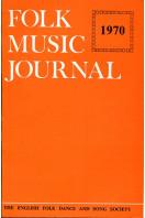 Folk Music Journal : Volume 2 Number 1 - 1970