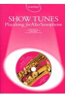 Guest Spot Show Tunes Playalong for Alto Saxophone  (includes CD)