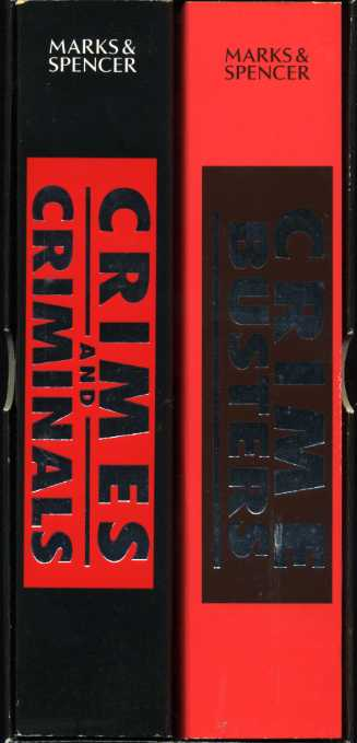 THE AUTHORS - Two Volume Set : Crime Busters ; Crimes and Criminals