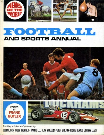 BUTLER, FRANK (EDITOR) - News of the World Football and Sports Annual 1971