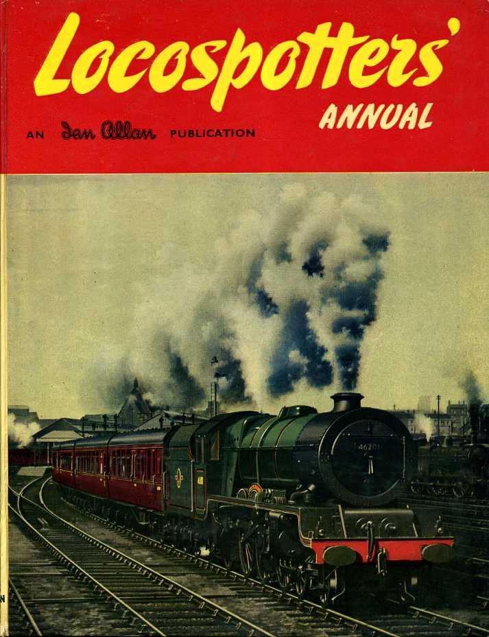 ALLEN, G. FREEMAN - Locospotter's Annual 1959