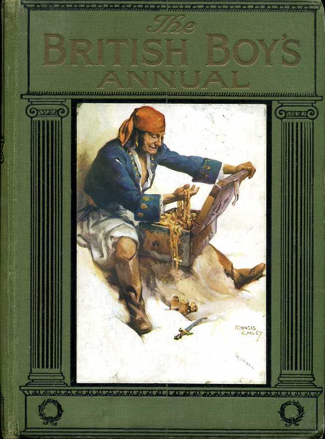 WOOD, ERIC (EDITOR) - The British Boy's Annual 1922