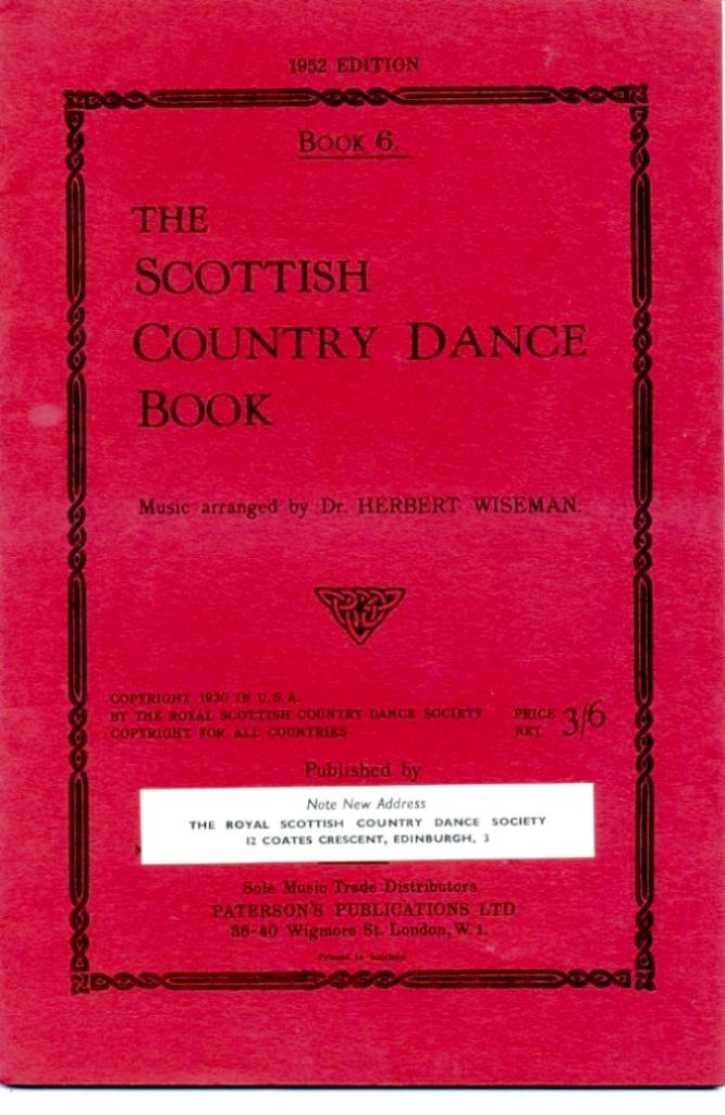WISEMAN, HERBERT (ARRANGED BY) - The Scottish Country Dance Book : Book 6