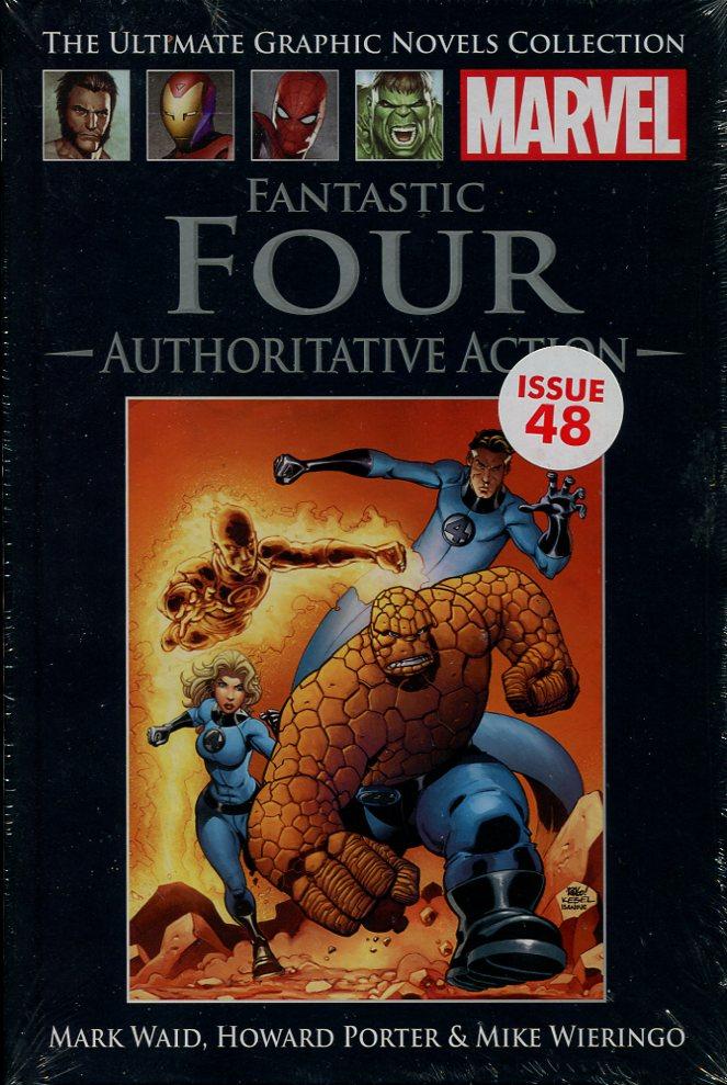 MARK WAID, HOWARD PORTER & MIKE WIERINGO - Fantastic Four : Authoritative Action (Marvel Ultimate Graphic Novels Collection)