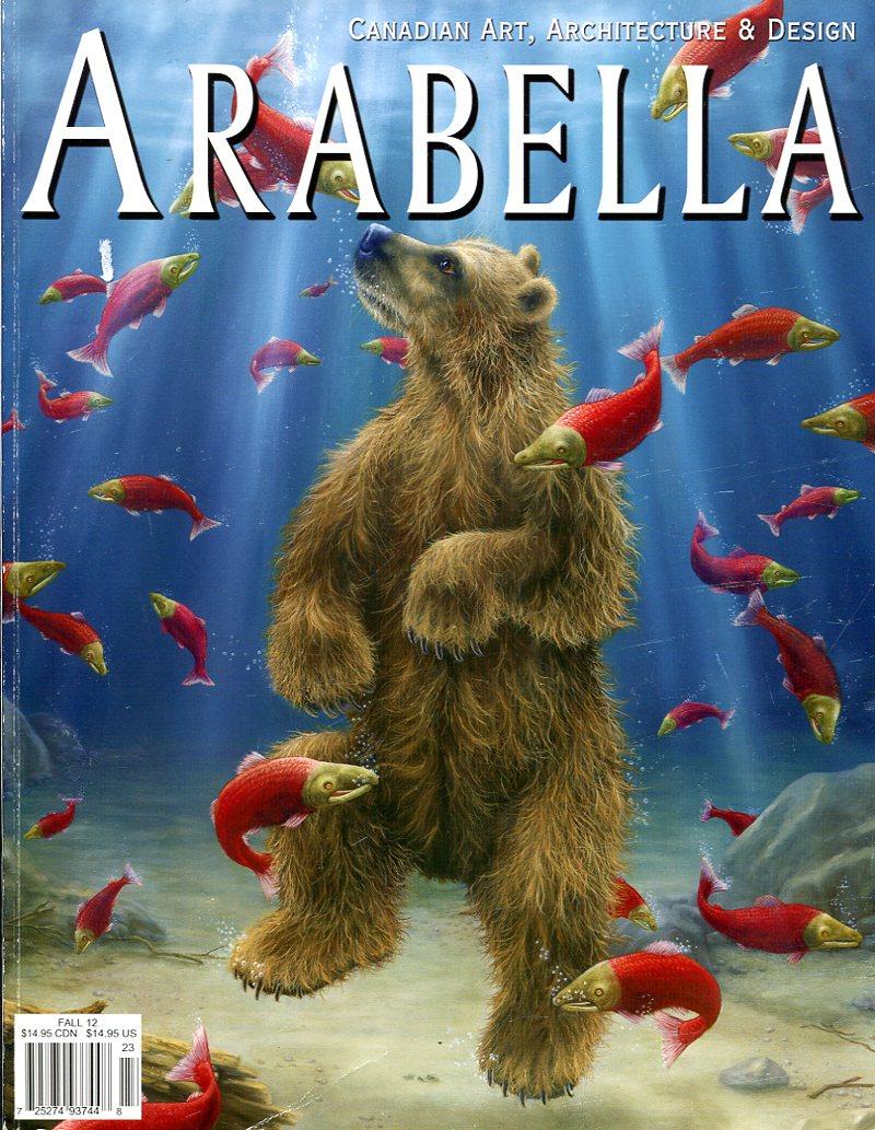 DEBRA USHER (EDITOR) - Arabella : Volume 5 Issue 3 : 2012: Candian Art, Architecture & Design (Signed By Editor)